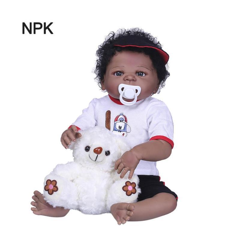 NPK 56 cm di Simulazione Bambola Realistica Bambola Del Vinile Reborn Baby Doll Giocattoli Per Bambini Compagno di GiochiNPK 56 cm di Simulazione Bambola Realistica Bambola Del Vinile Reborn Baby Doll Giocattoli Per Bambini Compagno di Giochi