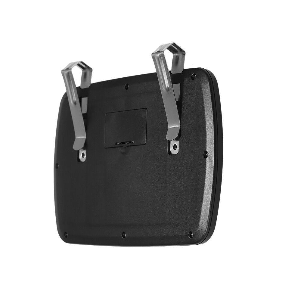 Black LED Black Clip On Sun Visor//Vanity Mirror Car//Automobile Light Cover