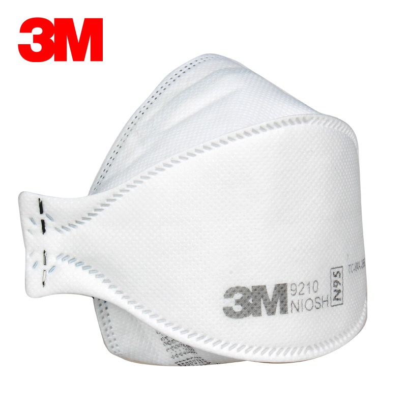 3M N95 9210 Dust Mask Anti-static Filter Particle-proof Electrostatic Filter Cotton LA Approved Protective Respirator3M N95 9210 Dust Mask Anti-static Filter Particle-proof Electrostatic Filter Cotton LA Approved Protective Respirator