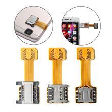 ALLOYSEED Hybrid Double Dual SIM Card fo
