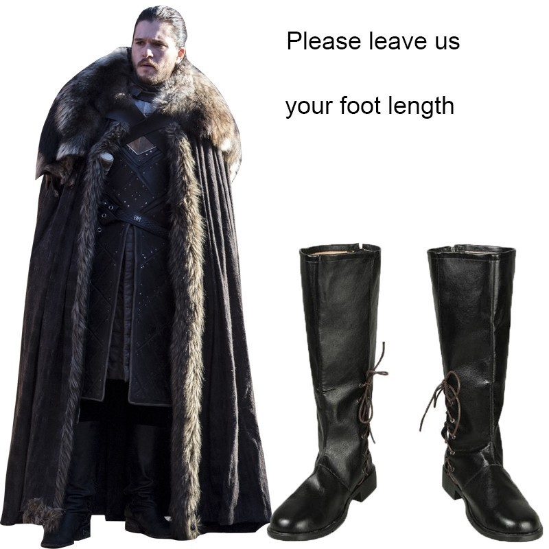 Game Of Thrones 8 Jon Snow Costume Cosplay Adult A Song Of Ice And Fire Halloween