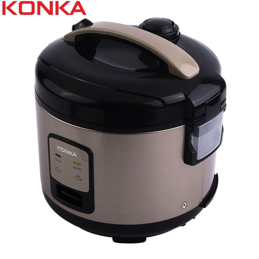 KONKA 3L Electric Rice Cooker Multifunction 1.5Kpa Heating Pressure Cooker For Kitchen Non-Stick Electric Pressure Cooker 2019KONKA 3L Electric Rice Cooker Multifunction 1.5Kpa Heating Pressure Cooker For Kitchen Non-Stick Electric Pressure Cooker 2019