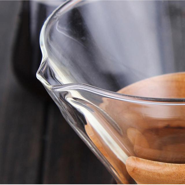 Glass Coffee Pot Dripper Moka Tea Maker Percolator Barista Tools Espresso Manual Kettle Teapot With Stainless Steel Infuser