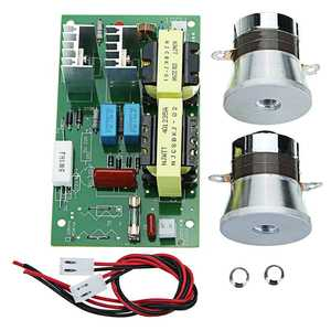 Power-Driver-Board Transducers Ultrasonic-Cleaner 40KHZ AC with 2pcs 50W 60W-100W 220V