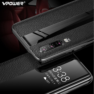 Image 5 - Huawei P30 Pro Genuine Leather Case Vpower Luxury Smart View Window Leather Flip Cases For Huawei P30 / P30 Pro Phone Covers