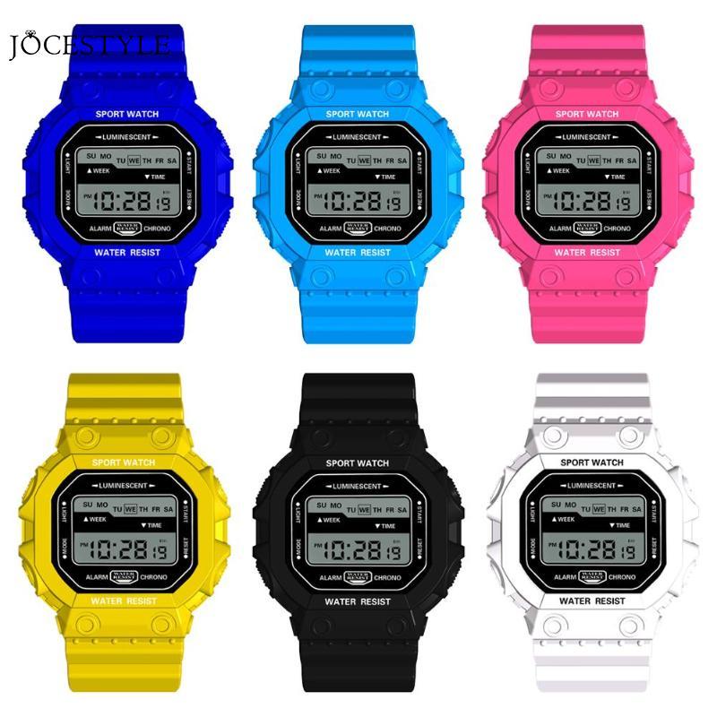 Fashion Women Men Watches Sports Digital Watch Waterproof Alarm Man Wrist Electronic Clock Casual Sports Electronics