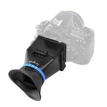 5D3 5D2 SLR fotoğraf makinesi 3 inç 3.2 inç Flip LCD ekran 3 büyütme vizör gözlük için Canon Nikon