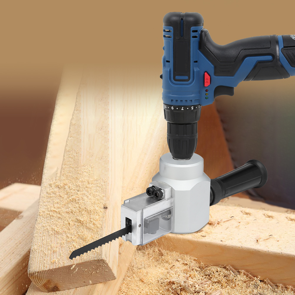 Dual-use Jig Saw Nibbler Metal Sheet Cutter for Electric Drill Professional Power Tool Accessories For Cutting