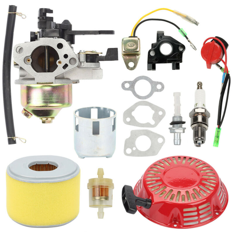 Carburetors Kit For Honda GX240 GX270 Recoil Starter Ignition Coil Air Filter Simple And Convenient To UseCarburetors Kit For Honda GX240 GX270 Recoil Starter Ignition Coil Air Filter Simple And Convenient To Use