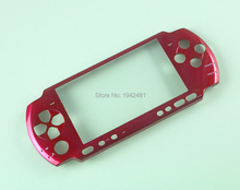Colors New Full Housing Front Faceplate Case Shell Cover With Logo For PSP3000 PSP 3000