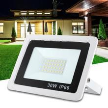AC 220V 30W Waterproof LED Spotlight Cold White Wall Light for Garden Courtyard Outdoor led spotlight