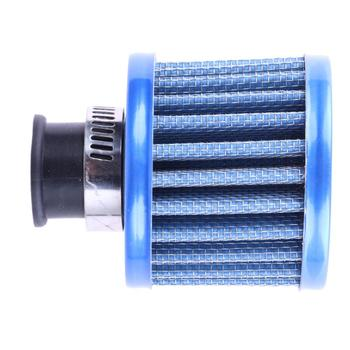 12mm Auto Vehicle Car Air Filter Cold Air Intake Filter Turbo Vent Crankcase Breather Universal Cold Kits Car Replacement Parts image
