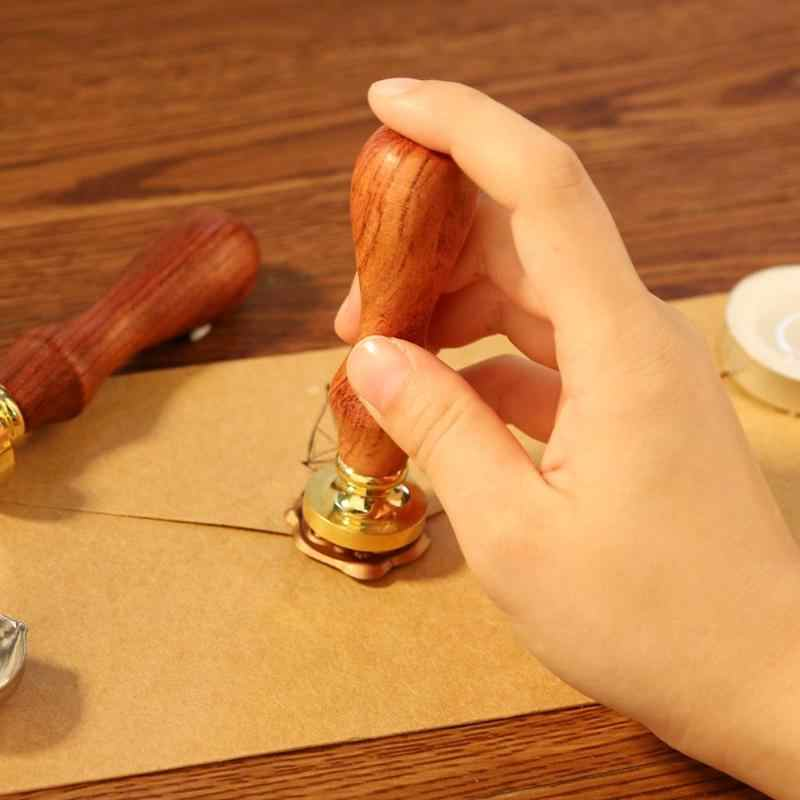 Antyczne metalowe zwierzęta pieczątki woskowe drewno uchwyt rzemiosło artystyczne starożytna pieczęć Post dekoracyjne antyczne znaczki prezenty