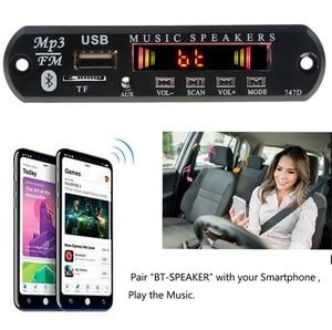 Image 4 - Kebidu Bluetooth 5V 12V MP3 WMA Xe Bộ MP3 Người Chơi Bộ Giải Mã Ban Đài FM TF USB AUX 3.5 Mm Bộ Thu Âm Thanh