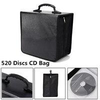 Portable 520 Disc CD DVD Storage World Map Printed Holder Carry Durable Wallet Bag Wallet DJ Album Collect Storage CN/RU STOCK