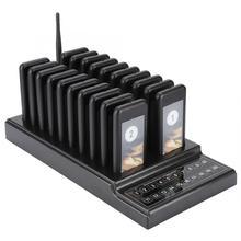 SU 68G система вызова Беспроводная система подкачки очереди 20 каналов ресторанный пейджер официант для ресторана Кофейня система очереди