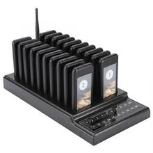 SU 68G Calling System Wireless Paging Queue System 20 Channels Restaurant Pager Waiter for Restaurant Coffee Shop Queuing System