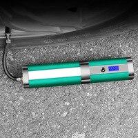 Автомобиль интеллектуальные воздушный насос 4 Светодиодный светильник Колонка насос 120 W Перезаряжаемые Портативный насос для накачивания
