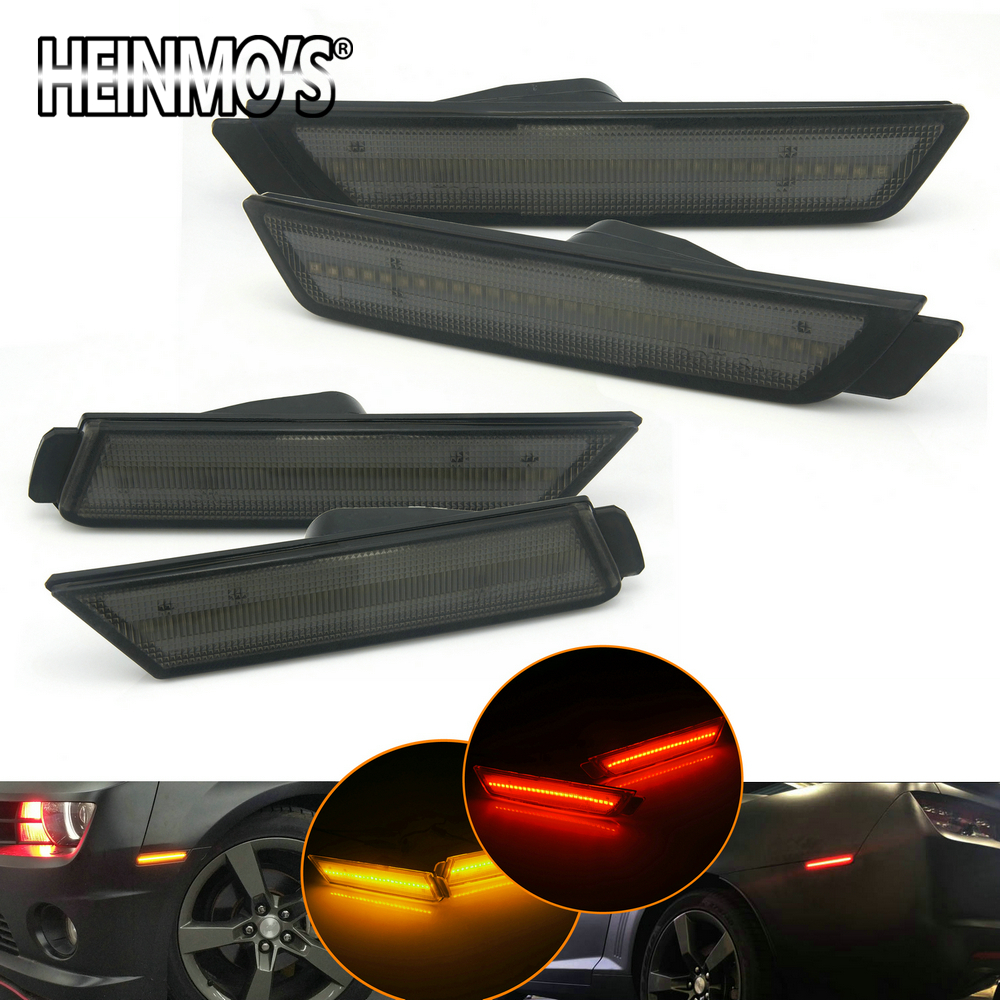 For Chevrolet Chevy Camaro 2010 2011 2012-2015 For Camaro LED Side DRL Fog Tail light Chevy Camaro Accessories For Chevrolet