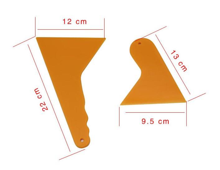 Car Windshield Tint Film Scraper Installing Tools Kit