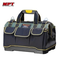 MPT Tool Bag Electrician Tools Carpentry Hardware Repair Portable Storage Organizers Box Work Spanner Toolbox Kitbag Case Big