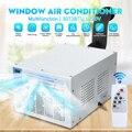 Nuevo 220 V 900 W IPX4 aire acondicionado escritorio ventana hogar Mini aire acondicionado con control remoto control