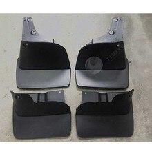 цена на 4pcs Premium Auto Front&Rear Heavy Duty Molded Flares Splash Mud Flaps Guards Fenders For Toyota Land Cruiser LC100 2007-2013