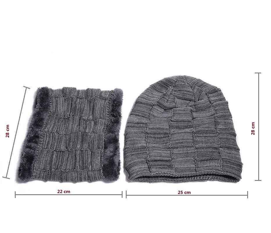 الرجال النساء منديل متماسكة فضفاض قبعة الشتاء قبعة تدفئة تزلج مترهل متماسكة قبعات فضفاض قبعة صغيرة الرقبة
