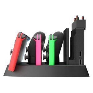 Image 3 - 充電表示任天堂スイッチ充電ドックとゲームホルダースイッチコンソール、喜び Con コントローラ、スイッチプロ C