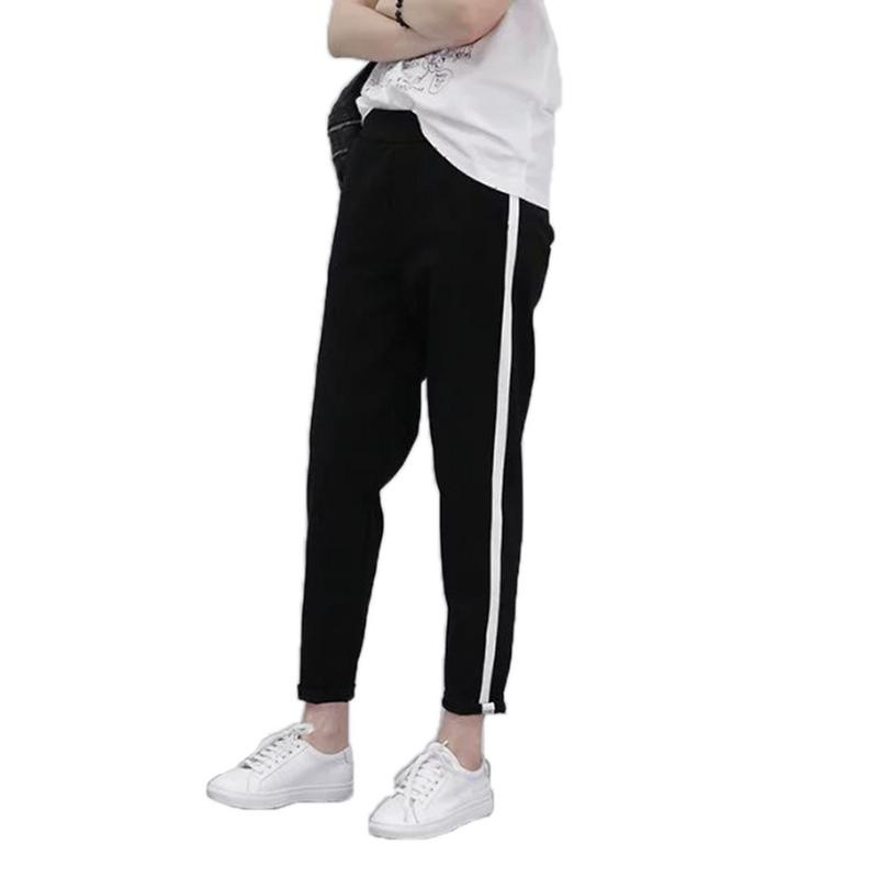 Casual Fashion Striped Side Sports Pants Ladies Thin Section Loose Trousers Slim Slim Trousers Women