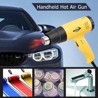 Temperature Adjustable Handheld Hot Air Gun Industrial Electric Heat Gun for Wall Paper Paint Stripping ABS Material Tools