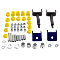 Front End Repair Kit w/ Bushings & King Pins for Club Car DS Golf Cart 1993 Up