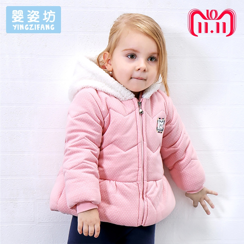 New Winter Baby Outerwear Casual Toddler Girls Jacket Cute Style Cotton Thick Hooded kids Coat Solid Color girls Jacket Coats new winter jacket women plus size outerwear a line casual loose full sleeve solid elegant coat jacket h234