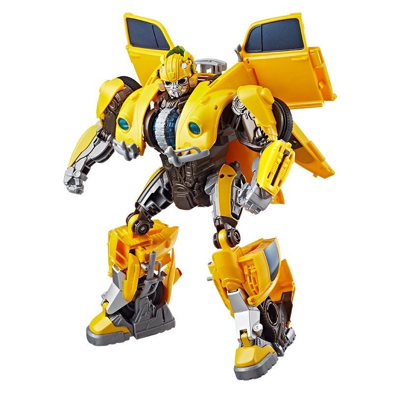 Tototoy nouvelle abeille E0982 Transformation Anime film série Figure Figma déformable voiture Robot Op Commander Bubblebee grande taille alliage