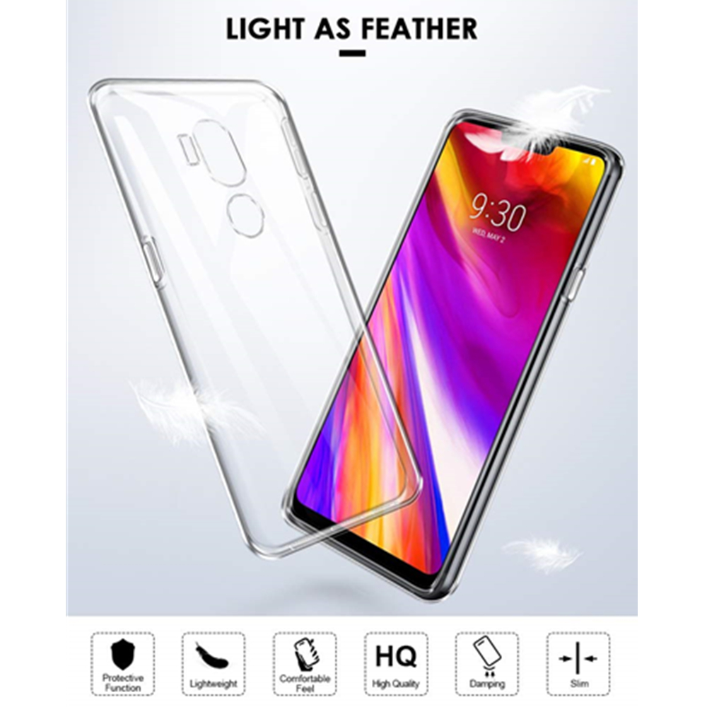 Precise Ultra Slim Clear Soft Silicone Tpu Phone Case Cover For Lg V40 V30 V20 X Power3 Q6 Q8 Q7 K40 G7 G6 G4 K4 K3 K8 K10 2018/17 Funda Choice Materials Clothes, Shoes & Accessories