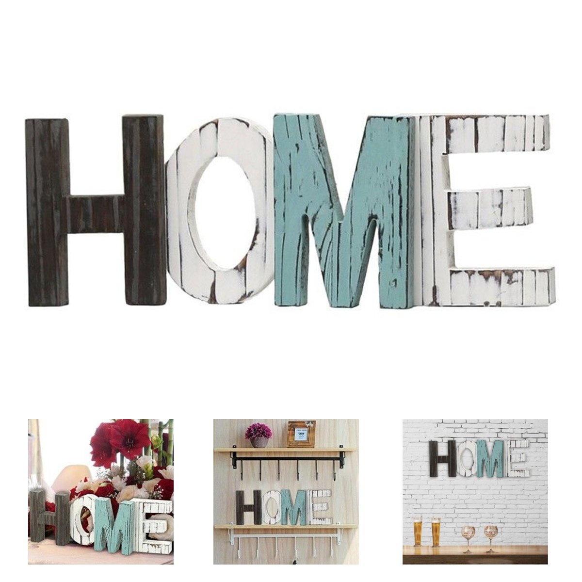 Large Decorative Wooden Letters.Us 17 49 33 Off Wooden Furniture Home Decorative Letters Large Wooden Letter Alphabet Wall Hanging Wedding Party Decoration Sign Freestanding In