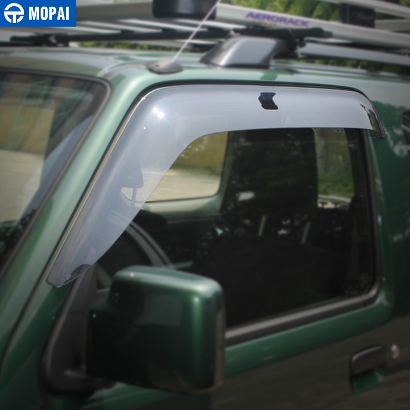 Image 4 - MOPAI Awnings Shelters Cover for Suzuki Jimny 2007 2017 Resin Car Weather Shields Windshield Window Visors Car Accessories-in Awnings & Shelters from Automobiles & Motorcycles
