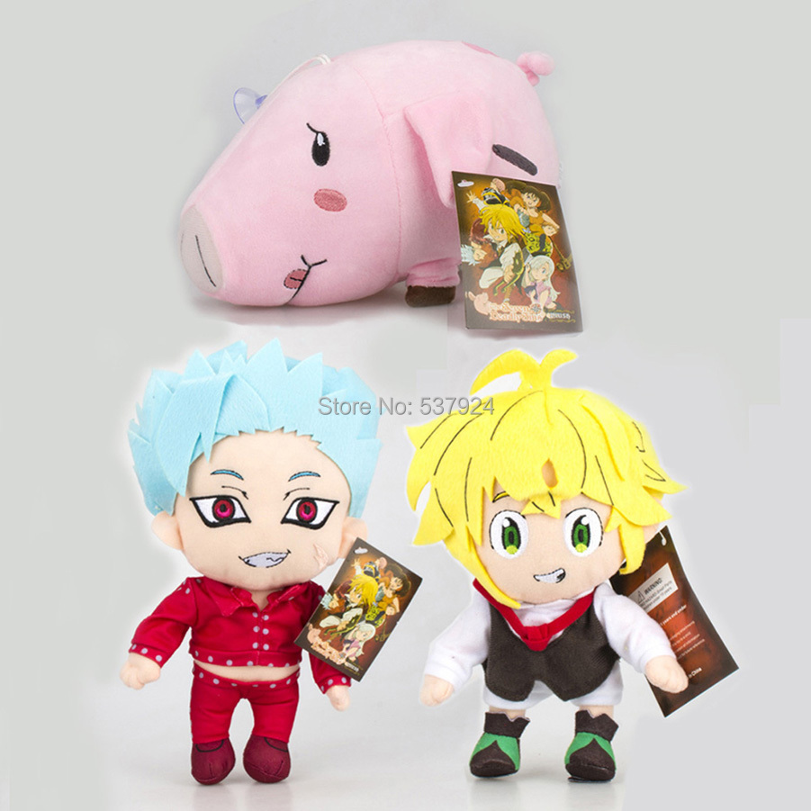 New 10Pcs The Seven Deadly Sins Meliodas Ban Hawk 8
