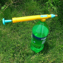 1 Pcs Mini Penyiraman Sprayer Botol Air Portabel Jus Tekanan Kepala Berkebun Trolley Perlengkapan Sprayer Taman Alat(China)