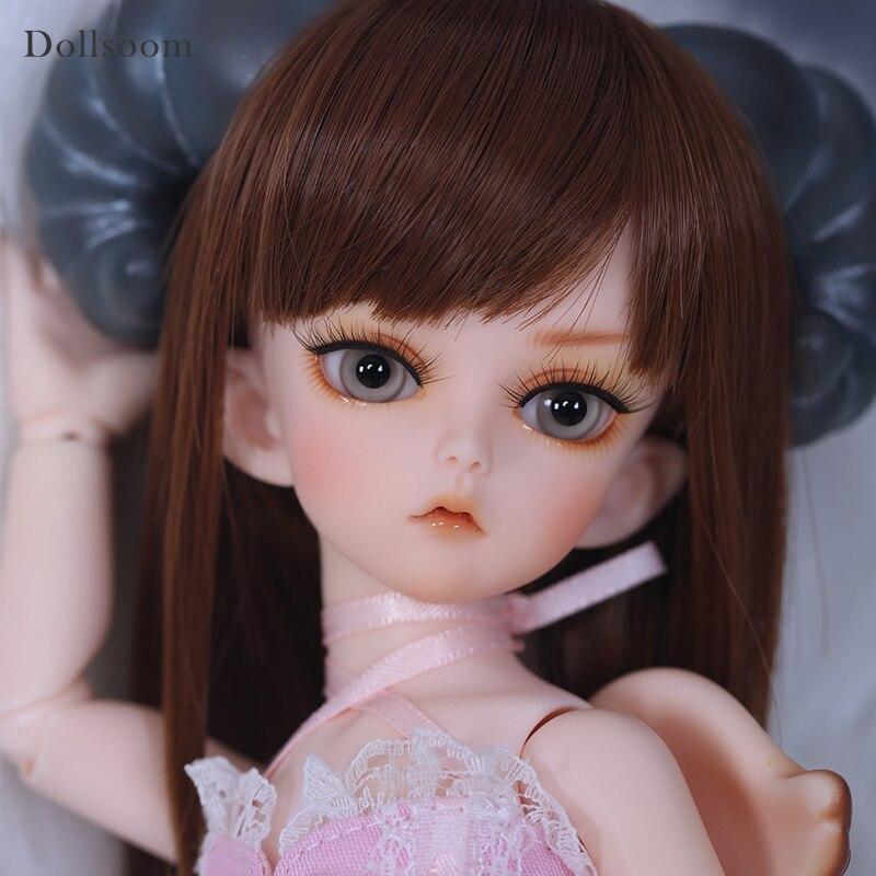 Glot & Glati 1/6 BJD SD ตุ๊กตาชุดเด็กตาคุณภาพสูงแฟชั่นของเล่นแต่งหน้า Shop เรซิ่นตัวเลข luodoll-ใน ตุ๊กตา จาก ของเล่นและงานอดิเรก บน   1