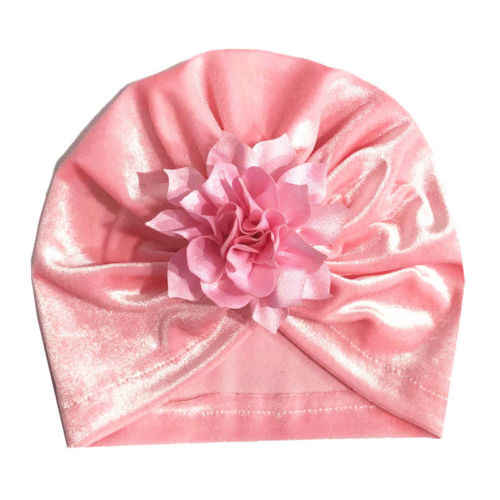 Soft ทารกแรกเกิดเด็กวัยหัดเดินเด็กทารกเด็กทารกเด็ก Turban หมวกผ้าฝ้าย Beanie หมวกฤดูหนาวหมวกหมวก