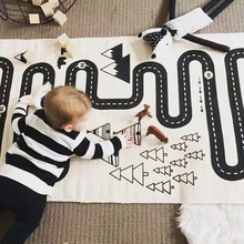 Carpet Baby Blankets Toys Crawling-Mat Game-Checkers Room-Decoration Playing Infant 1pc