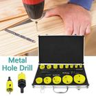 OL 17PCS/SET Compact Wood Working Open Hole Tool DIY Hand Metal Hole Drill Tool RL
