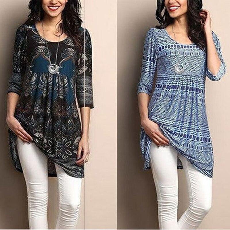 Women   Blouse   New Fashion Women's Loose Long Sleeve Cotton Casual   Blouse     Shirt   Tunic Tops   Blouse