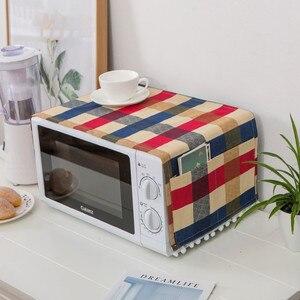 Новинка 30x90 см полотенцесушитель для микроволновой печи хлопок Microondas Acessorios кухонные аксессуары украшение домашний чехол для кухни