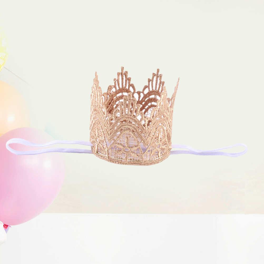 1 Pc เด็ก Handwear แฟชั่นมงกุฎใหม่รูปยุโรปและอเมริกัน Headdress Photo Hairband อุปกรณ์เสริมสำหรับทารกทารก