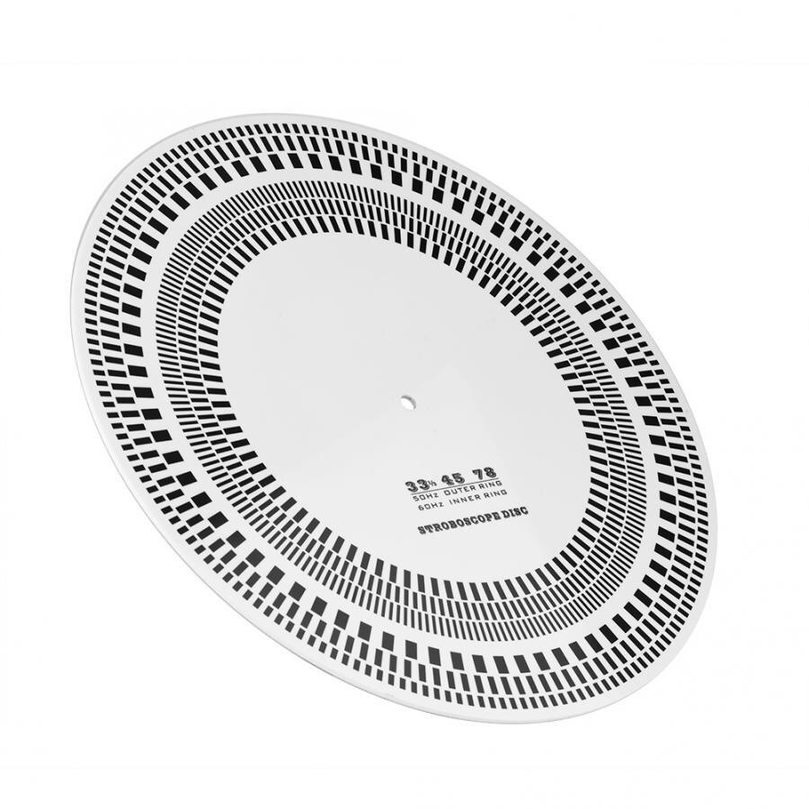 50/60hz Dreh Geschwindigkeit Kalibrierung Stroboskop Disc Ungleiche Leistung Profesional Lp Vinyl Rekord Plattenspieler Phono Drehzahlmesser 33/45/78 Rpm Tragbares Audio & Video Unterhaltungselektronik