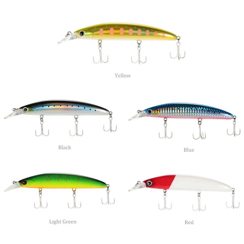 Trulinoya Memancing Umpan 11 Cm 3D Tenggelam Ikan Kecil Memancing Umpan Umpan Kait Bass Tackle untuk Carp Pesca