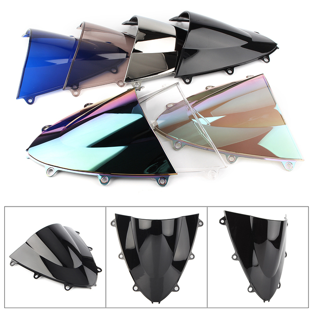 CBR1000RR Motorcycle Windshield Windscreen Double Bubble For Honda  CBR 1000 RR 2008 2009 2010 2011