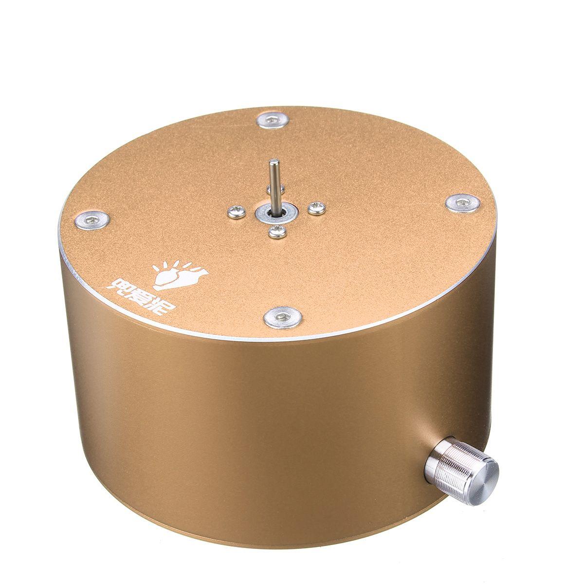 Tournant la Machine en céramique de roue de poterie électrique 12 V 1500 t/mn bricolage la poterie en céramique d'argile faisant la trousse d'outils avec la plaque tournante - 6
